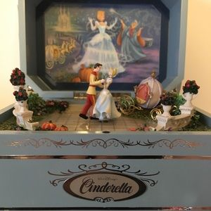 Disney CINDERELLA'S Music Box First Issue numbered